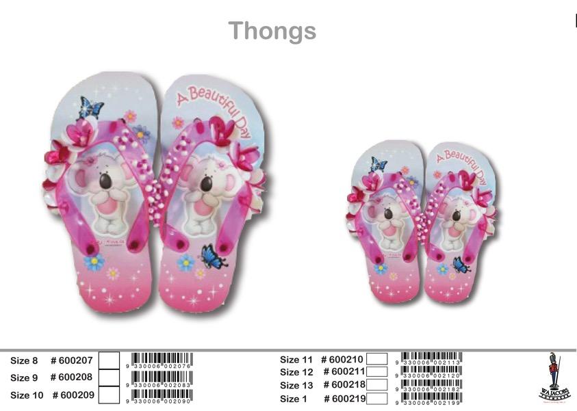 Thongs No Price